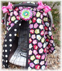 Carseat Canopy / Carseat Cover / Carseat Tent by fashionfairytales, $35.99