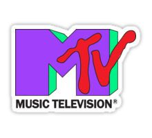 Indie stickers featuring millions of original designs created by independent artists. Homemade Stickers, Diy Stickers, Mtv Music Television, Music Pics, Tv Land, Party Poster, Retro Pattern, Aesthetic Stickers, 90s Kids