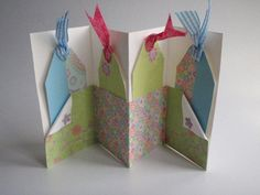 diy card with pockets