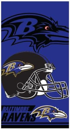 12 Baltimore Ravens Double Covered Velour Beach Towels 28 X 58 Inch These towels are sturdy with vibrant colors will last for many trips to the pool or Baltimore Ravens Wallpapers, Baltimore Ravens Logo, Minnesota Vikings Wallpaper, Viking Wallpaper, New Era 39thirty, Record Art, Nfl Logo, Sports Wallpapers, Football Wallpaper