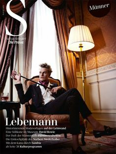 Gerhard Freidl (Wiener Models) photographed for Die Presse cover story by Julia Spicker with elegant styling by Barbara Zach. Photography Poses For Men, Portrait Photography, Fashion Photography, Bowie, Pretty People, Beautiful People, The Happy Prince, Mens Fashion Suits, Men's Fashion