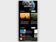 News App ui ux publishing news nature magazine iphonex iphone ios globe earth article Ios App Design, Web Design, Mobile Ui Design, User Interface Design, Flat Design, Motion Design, Design Thinking, News Website Design, Identity