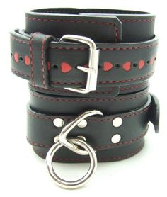 H2H Ankle Restraint Leather