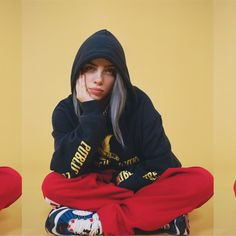 Billie Eilish Wants Girls In the Mosh Pit Too - Icon People - Ideas of Icon People - Billie Eilish Talks Girls in the Mosh Pit and Avocados for The Music Issue Billie Eilish, Teen Vogue, Looks Hip Hop, Sexy Outfits, Fashion Outfits, Women's Fashion, Videos Instagram, People Icon, My Girl