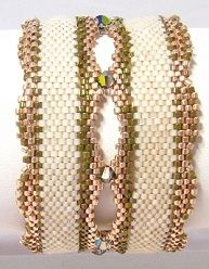 34 Prettiest Beading Designs and Patterns You've Ever Seen from @AllFreeJewelryMaking