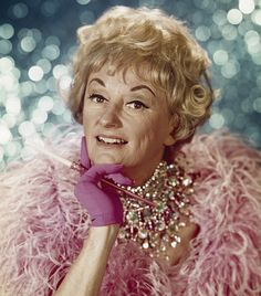 Phyllis Diller / The the Older  shows.  Did stand up comedy.  She was so funny, and back then, was as famous as Bob Hope.
