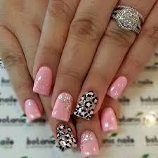 Resultado de imagen para uñas de gelish decoradas animal print
