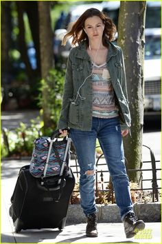 leighton meester style casual converse - Google Search