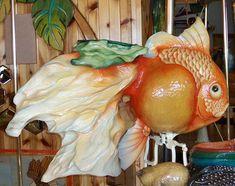 The 1993 Carousel Concept Carousel at Goldfish Jumper Lark Toys, Kellogg, MN Hippocampus Seahorse, Carosel Horse, Amusement Park Rides, Painted Pony, Merry Go Round, Roadside Attractions, Goldfish, Beautiful Horses, Fantasy