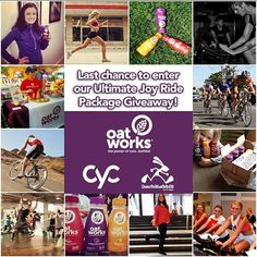 Join our fun w/@cycfitness @jackrabbitnyc while you still can! There's only hours left! #contest #joyride