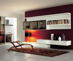 Modern Wall Shelves Living Room