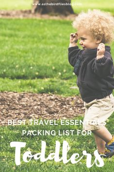 If you're getting ready to go for an upcoming journey with your toddler(s), this packing list of the best toddler essentials (for any kind of journey) will help you get and feel prepared for your upcoming family travel. From the best travel toys, travel gadgets and travel gear to help your toddler sleep, this is the ultimate list of toddler travel essentials (that isn't 20 pages long!) #toddler #travel #bed #packinglist #familytravel #toddlertravel #list #toddlers #essentials