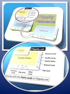 • Flippity.net offers teachers the ability to create online flash cards using information generated in a Google Spreadsheet. Activity: Have your students create their own flashcards and then test one another about course information!