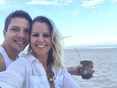 Todo dia dia de passear pela praia. Tomar um chimarrão. Curtir um pôr do sol. Curtir o maridão. #AussieLife #Australia #Chimarrao #BrasileirosnaAustralia #Gauchospelomundo #Tea #Beach #Sunset #Viajandonomundoenamoda #travel