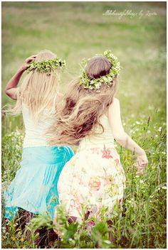 Best friends forever.. Sweet childhood memories..