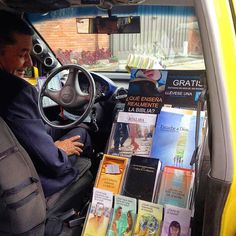 @mrcoconutwm shares: The way a brother taxi driver uses his way of living to declare the good news in Bogotá Colombia I cant even imagine how many experiences he has everyday.