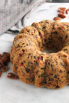 You know the brick of a fruit cake every one makes jokes about at Christmas? This is not it! This fruit cake converts fruit cake haters and is the joy of fruit cake lovers. Cake Icing, Eat Cake, Cupcake Cakes, Fruit Cakes, Cupcakes, Bundt Cakes, Holiday Baking, Christmas Baking, Cake Recipes