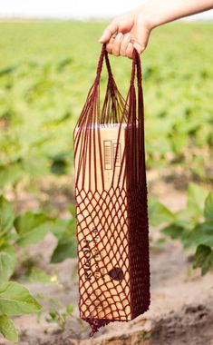 Shopping Bag is from natural material. Bag Case for all by EcoGG