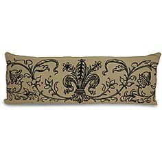 Fleur de Lis Decorative Pillow