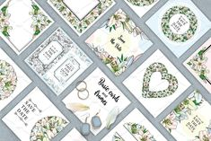 Lily, Bouquet and Wedding Design - Illustrations - 3