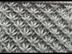 Knitting Stitch How to - Nagel Design Germany Knitting Videos, Knitting Stitches, Knitting Socks, Free Knitting, Knitting Patterns, Crochet Patterns, Crochet Baby Hats, Crochet Clothes, Tunisian Crochet
