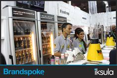 Business with pleasure at #IFF'15, with The Beer cafe, presented by British Union