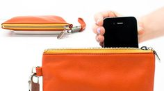 Image result for pouch with integrated charging