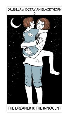 Drusilla & Octavian Blackthorn - The Dreamer & The Innocent: Cassandra Jean: Shadowhunter Tarot Series: *Character belongs to Author Cassandra Clare and her Dark Artifices series