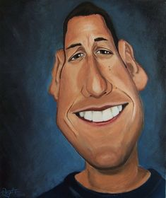 ~ By PAULOV2  _____________________________ Reposted by Dr. Veronica Lee, DNP (Depew/Buffalo, NY, US) Adam Sandler, Funny Caricatures, Celebrity Caricatures, Celebrity Drawings, Cartoon Art, Cartoon Characters, Cartoon Illustrations, Cartoon Faces, Famous Cartoons
