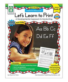 Another great find on #zulily! Let's Learn to Print Paperback #zulilyfinds
