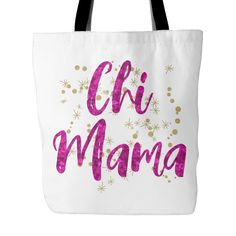 Chihuahua Mom Chi Lovers Tote