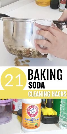 Diy Home Cleaning, Homemade Cleaning Products, Household Cleaning Tips, House Cleaning Tips, Natural Cleaning Products, Cleaning Hacks, Natural Cleaning Solutions, Natural Cleaning Recipes, Baking Powder Uses
