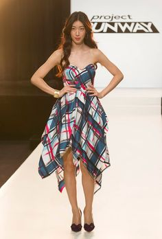 Project Runway Season 12, Episode 9: The Modern Southern Woman  As a Southern teenager, the stereotypical image of a Southern woman made me really mad. However, I really did love this dress- gorgeous colors and silhouette. I also liked Dom's second dress. :)