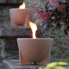 Schmelzfeuer, die Kerzen-Recycling-Gartenfackel von Denk Keramik - arshabitandi. Der DesignVersand - Geschenke online kaufen!