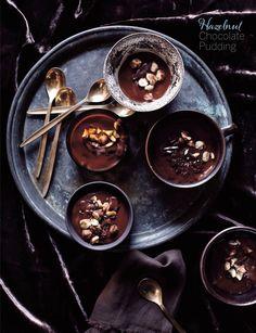 WOW!  Want to make this  Hazelnut choc pudding
