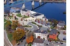 Arial view of the Bluff View Art District in Chattanooga, TN.  I shed tears when I look @ this photo.