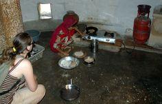 Making Chapati in Jaisalmer