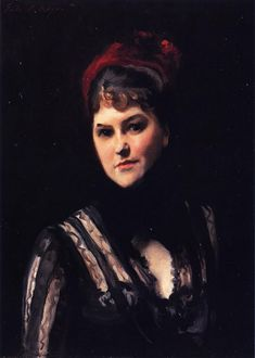 The Athenaeum - Mrs. Kate Moore (John Singer Sargent - ) c. 1884