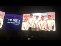 Running Man Shoutout For R.M. BROS Concert In Las Vegas. Kim Jong Kook, Running Man, Shout Out, Las Vegas, Concert, Youtube, Hall Runner, Last Vegas, Concerts