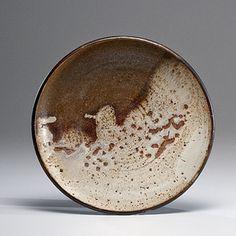 Plate ca 1958 Glazed Stoneware; dia. 12 in....