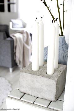 Valkoinen Soihtu: DIY - Rouheutta meidän kotiin