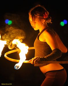 Fire hooping by naturalturn on Flickr