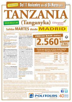 TANZANIA (Tanganyka), salidas Martes del 3 al 24 de Marzo desde Madrid(8d/5n)precio final dsd 2.905 ultimo minuto - http://zocotours.com/tanzania-tanganyka-salidas-martes-del-3-al-24-de-marzo-desde-madrid8d5nprecio-final-dsd-2-905-ultimo-minuto/