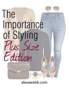 Styling Plus Size Outfits - The Importance of Styling - Alexa Webb - alexawebb.com