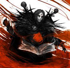 Blood mage by Nerva1.deviantart.com on @DeviantArt
