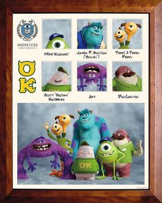 Monsters University: Oozma Kappa (OK) Fraternity!