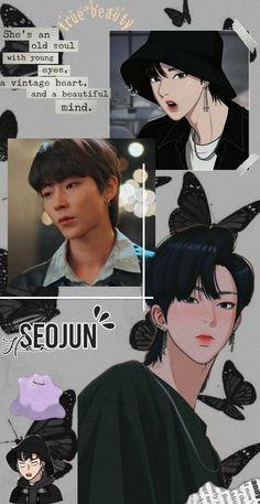 Kpop Anime, All Korean Drama, K Wallpaper, Handsome Korean Actors, Kdrama Actors, Cha Eun Woo, Beautiful Mind, True Beauty, Cute Wallpapers