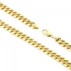 14kt Yellow Gold Miami Cuban Chain 6.1mm Width 8.5 Inch Long (22.6 Grams) by RG&D