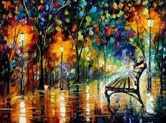 Pintura com espátulas! | Afremov