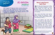 Kisah Asma'ul Husna Al-Hakiim Kids Story Books, Stories For Kids, Asma Allah, Just Pray, Learn Islam, Islamic Quotes, Kids And Parenting, Muslim, Knowledge